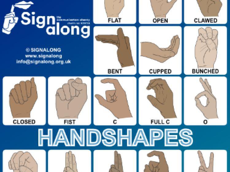 Handshapes Ad