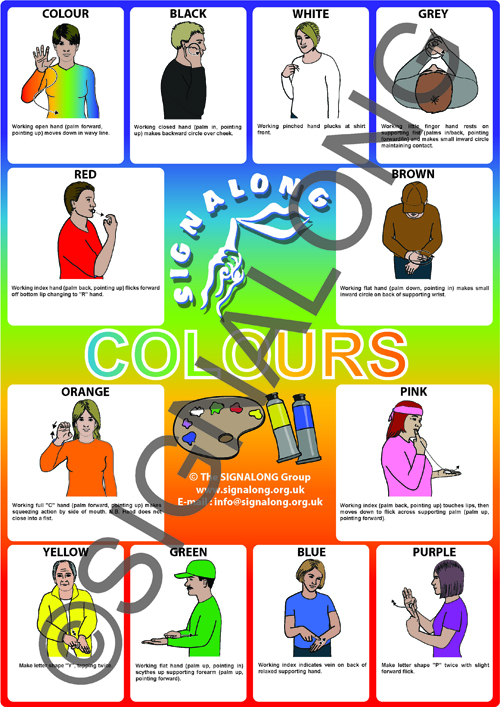 Colours Poster