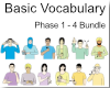 Basic Vocabulary Phase 1-4 Bundle