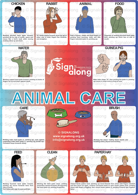Animal Care Poster
