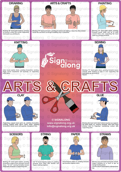 Arts & Craft Poster