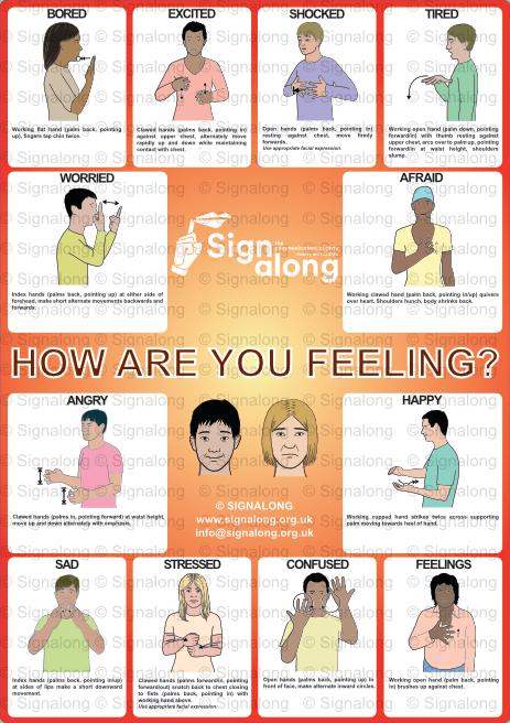 Feelings Poster