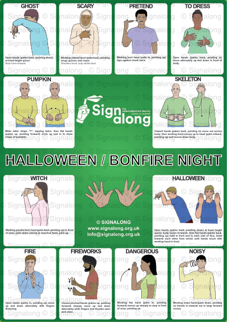 Halloween/Bonfire Night Poster
