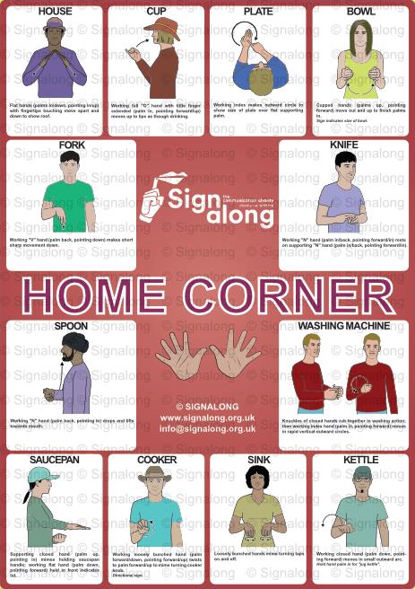 Home Corner Poster