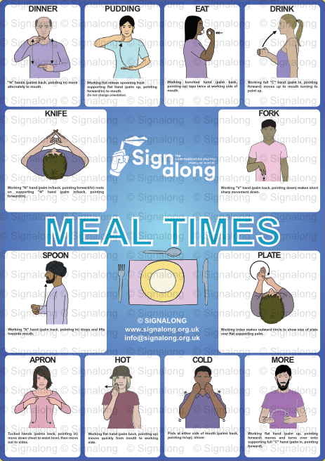 Meal Times Poster