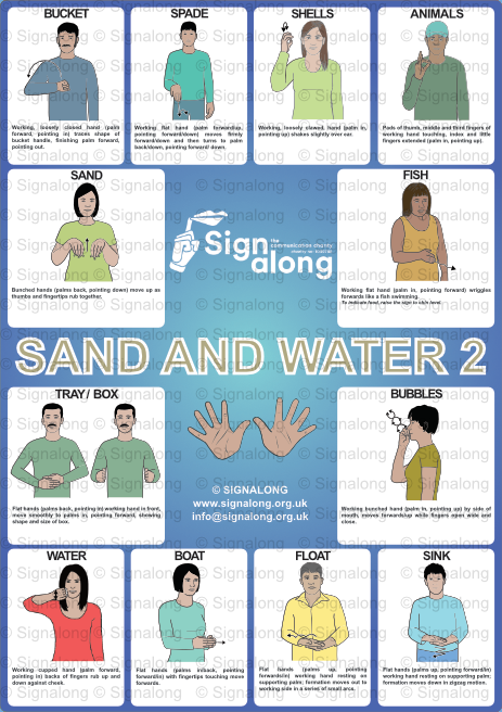 Sand and Water 2 Poster
