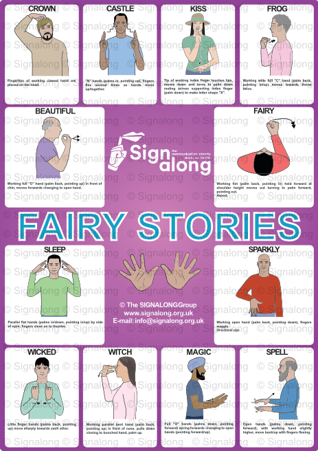 Fairy Stories Poster, Poster, Signalong Store