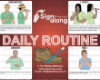 Daily Routine Poster