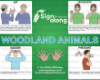 Woodland Animals Poster