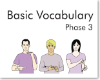 Basic Vocabulary Phase 3