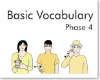 Basic Vocabulary Phase 4