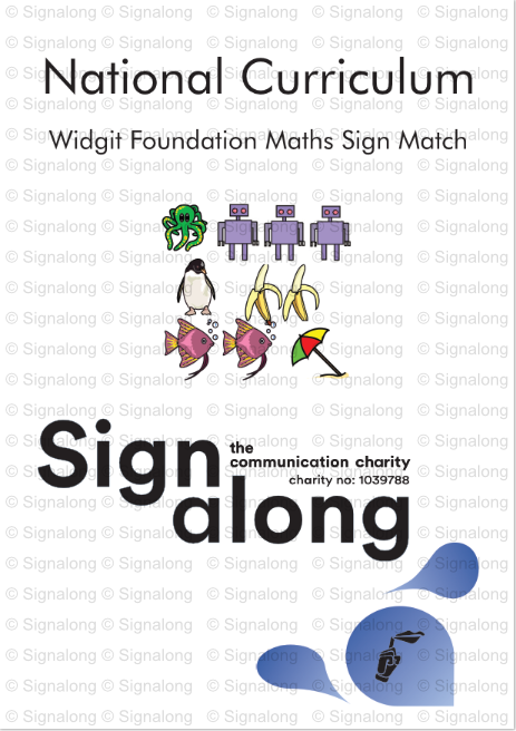 Widgit Foundation Maths  - A Signing Companion